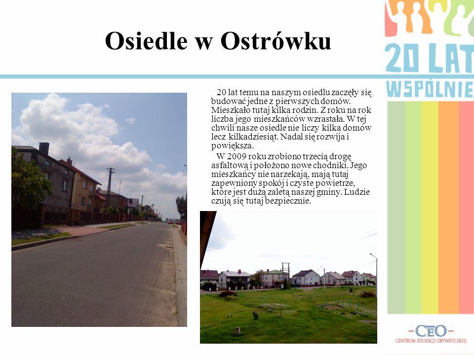 Osiedle w Ostrówku