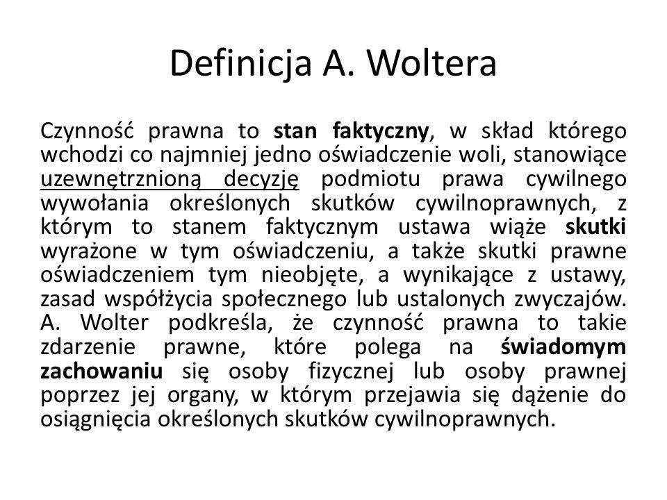 Definicja A. Woltera