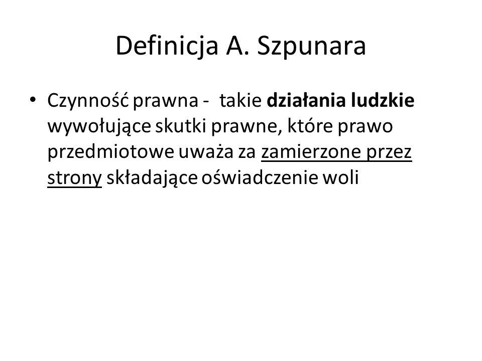 Definicja A. Szpunara
