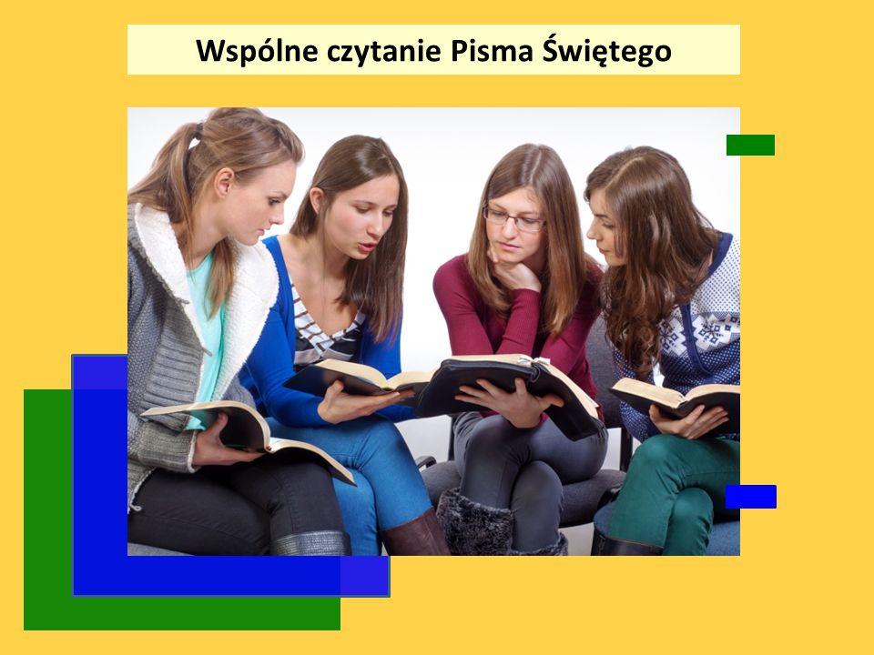 Wspólne czytanie Pisma Świętego