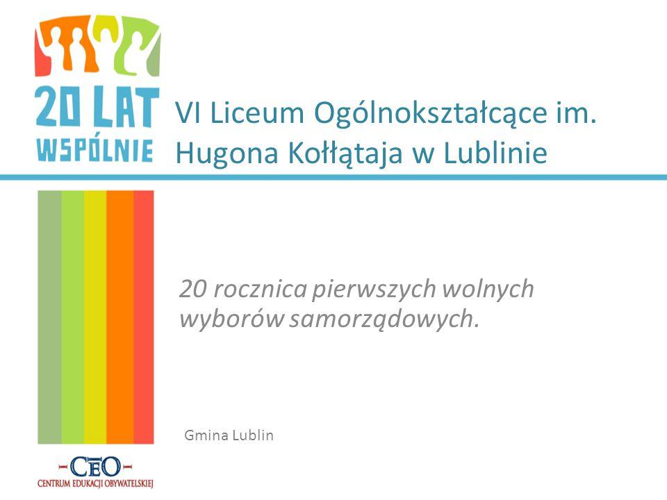 VI Liceum Ogólnokształcące im. Hugona Kołłątaja w Lublinie
