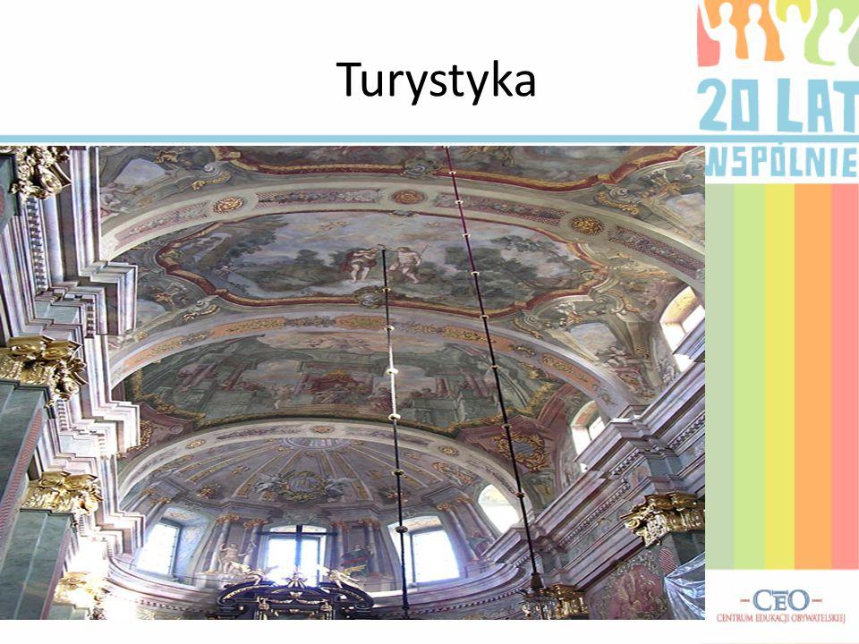 Turystyka Na zdjęciu Sklepienie Archikatedry Lubelskiej.
