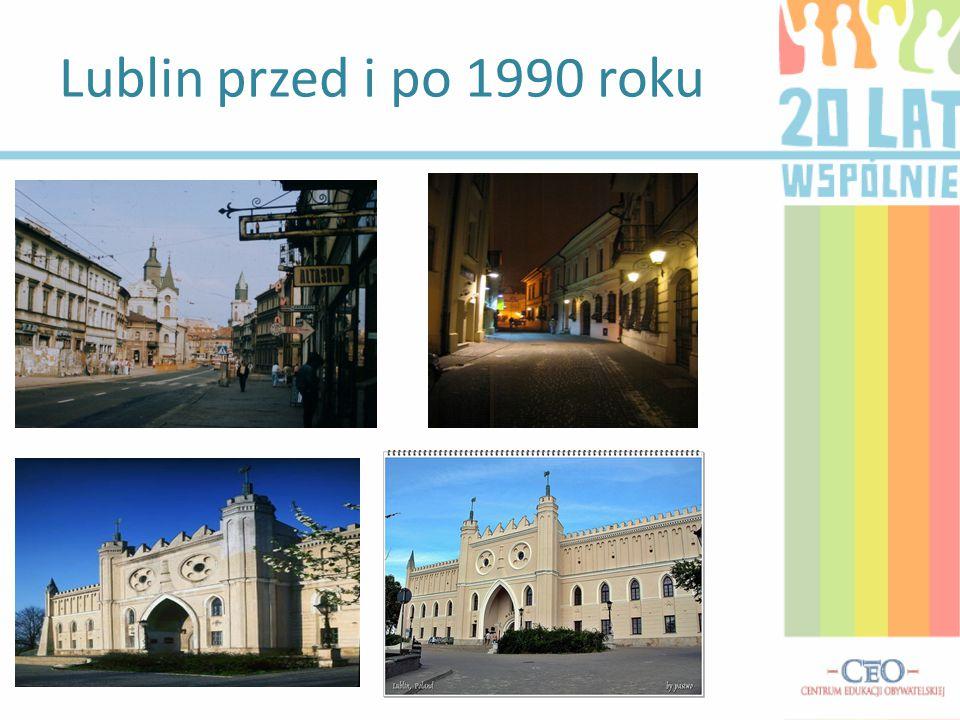 Lublin przed i po 1990 roku