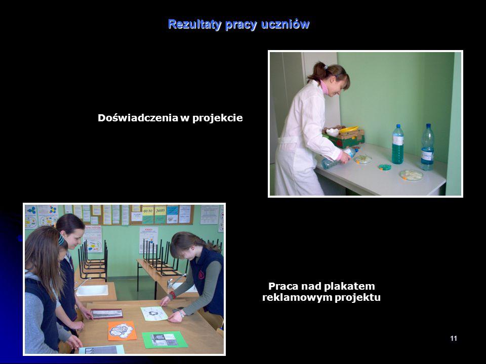 Doświadczenia w projekcie Praca nad plakatem reklamowym projektu