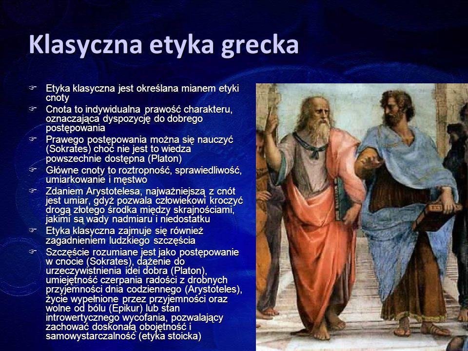 Klasyczna etyka grecka