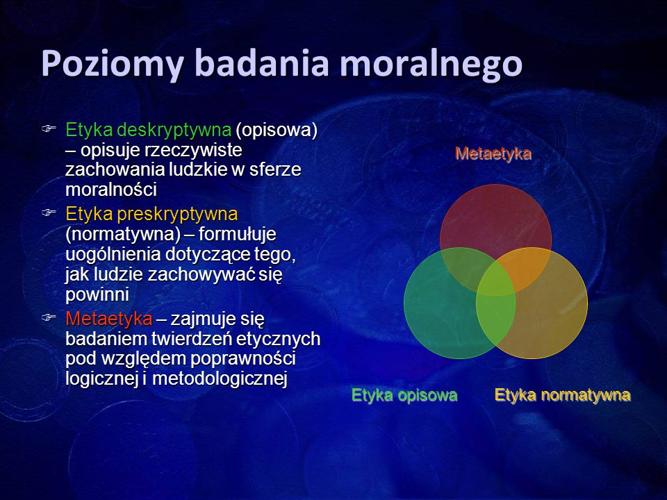 Poziomy badania moralnego
