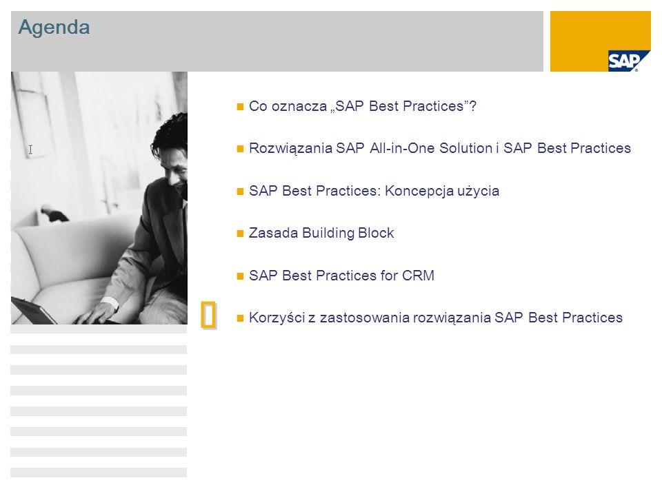 "è Agenda Co oznacza ""SAP Best Practices"