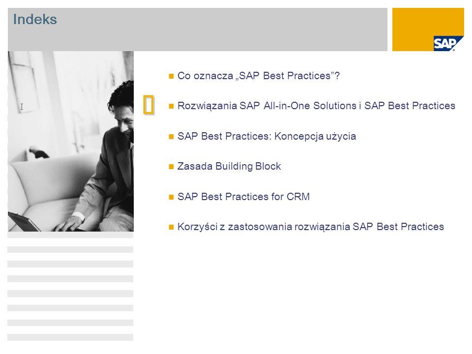 """è Indeks Co oznacza """"SAP Best Practices"""