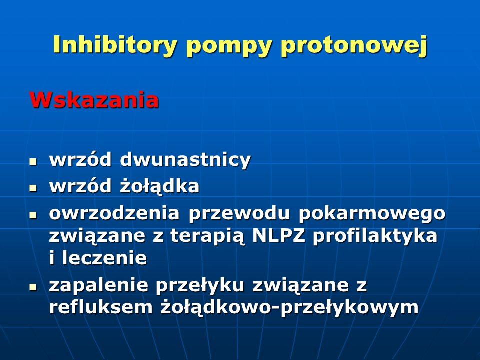 Inhibitory pompy protonowej