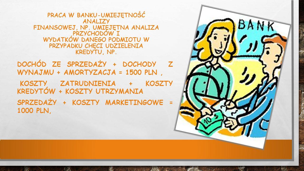 dochód ze sprzedaży + dochody z wynajmu + amortyzacja = 1500 PLN ,
