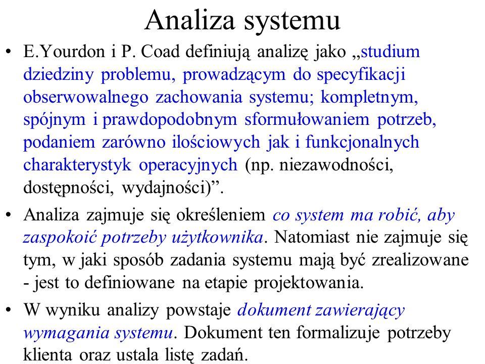 Analiza systemu