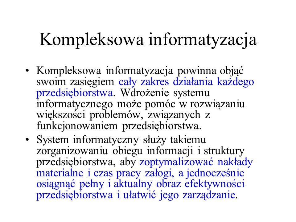 Kompleksowa informatyzacja