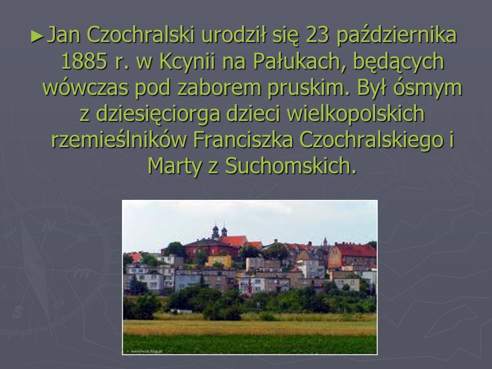 Jan Czochralski urodził się 23 października 1885 r