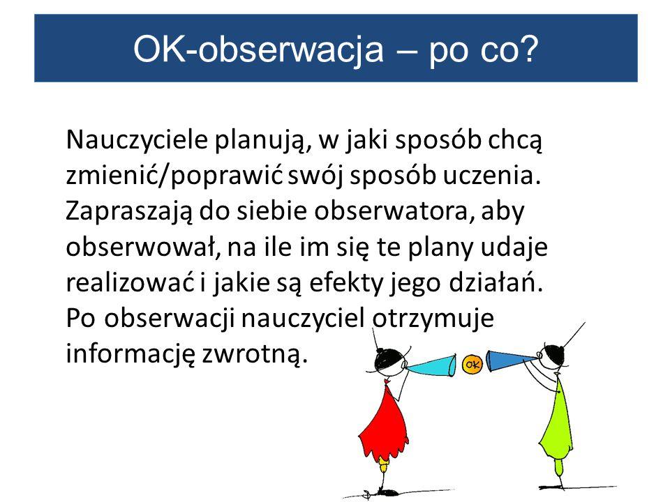 OK-obserwacja – po co