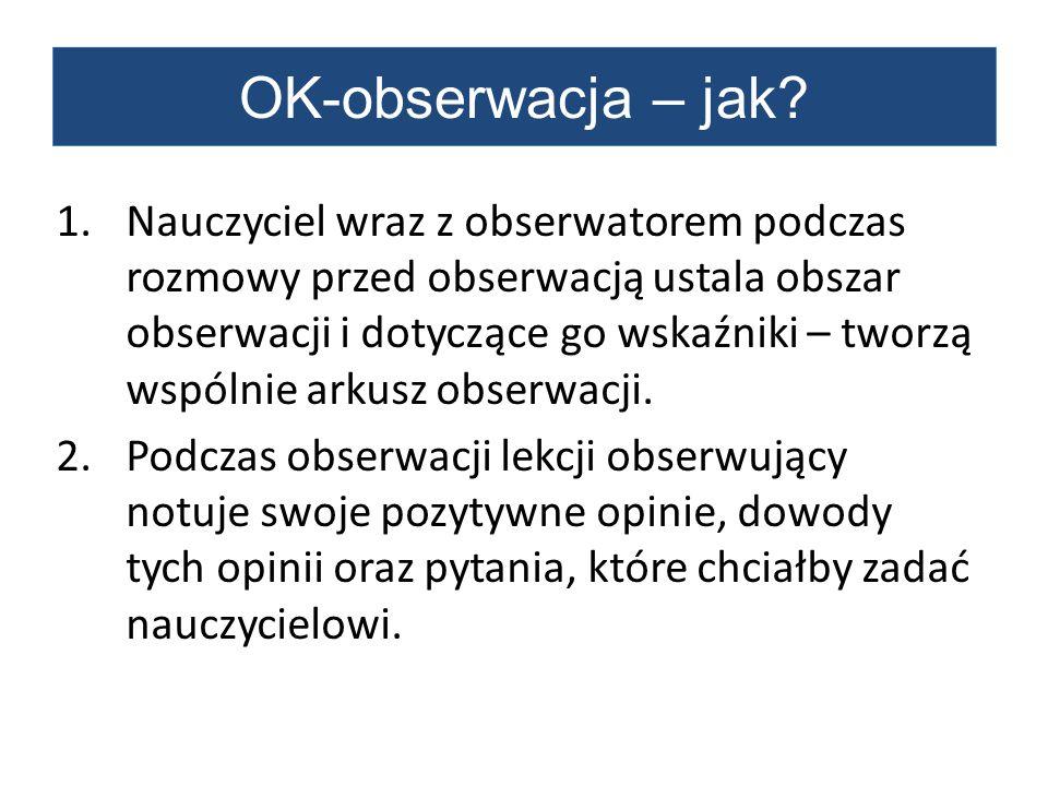 OK-obserwacja – jak