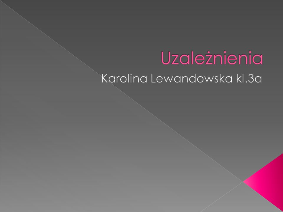 Karolina Lewandowska kl.3a