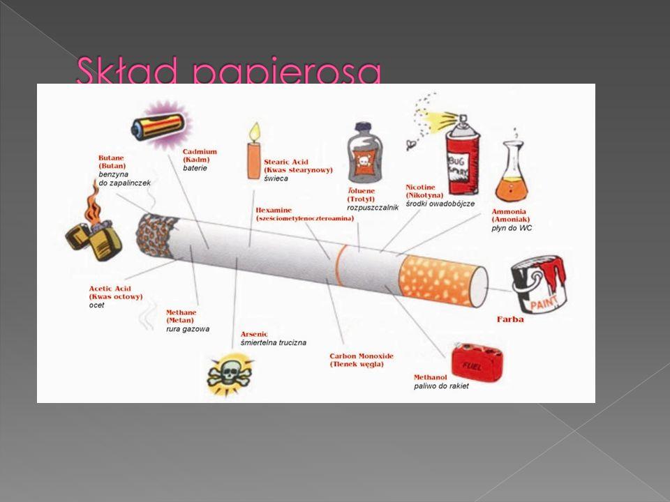 Skład papierosa