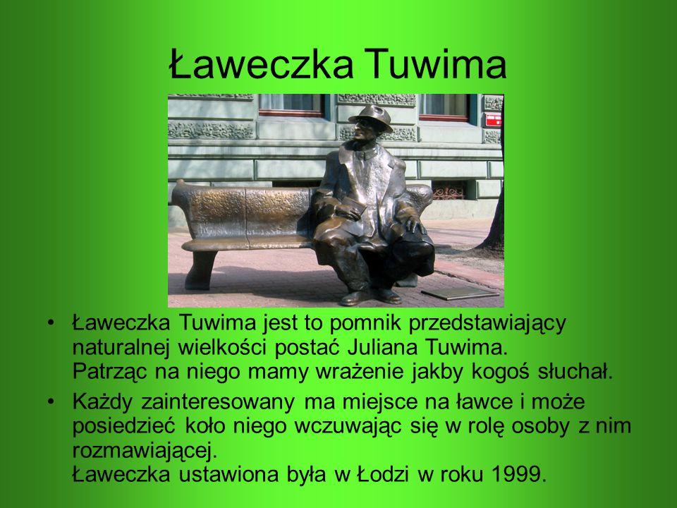 Ławeczka Tuwima