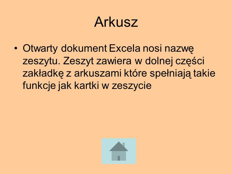 Arkusz