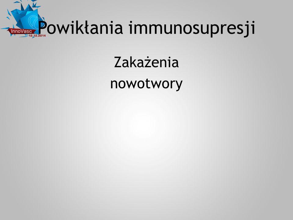 Powikłania immunosupresji