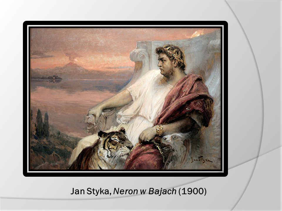 Jan Styka, Neron w Bajach (1900)