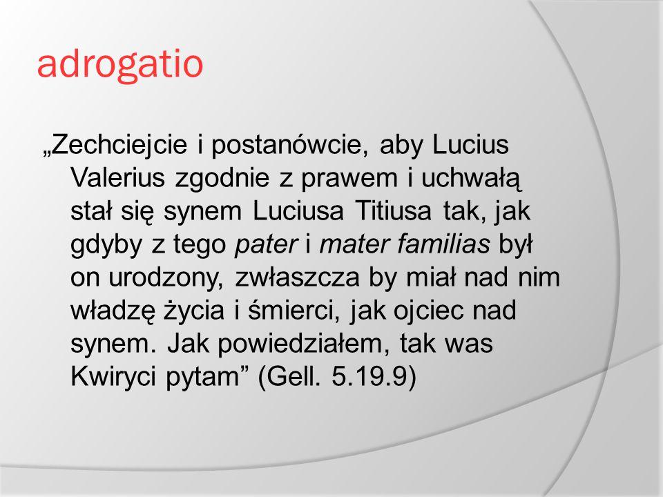 adrogatio