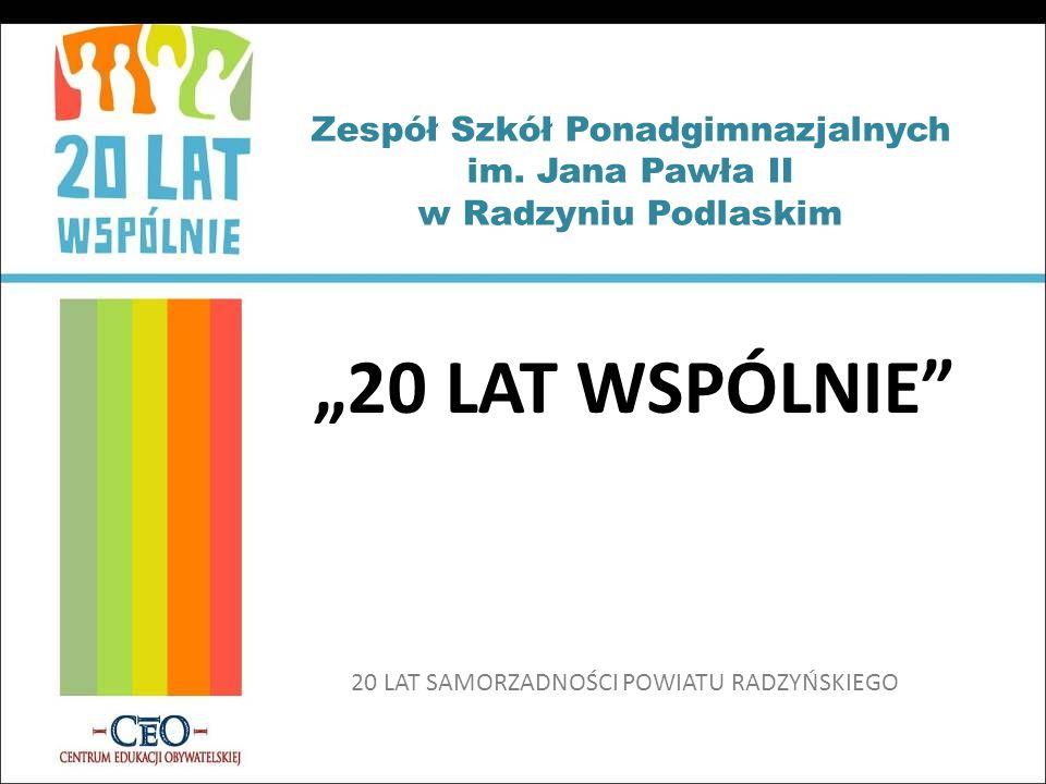 Zespół Szkół Ponadgimnazjalnych im. Jana Pawła II w Radzyniu Podlaskim