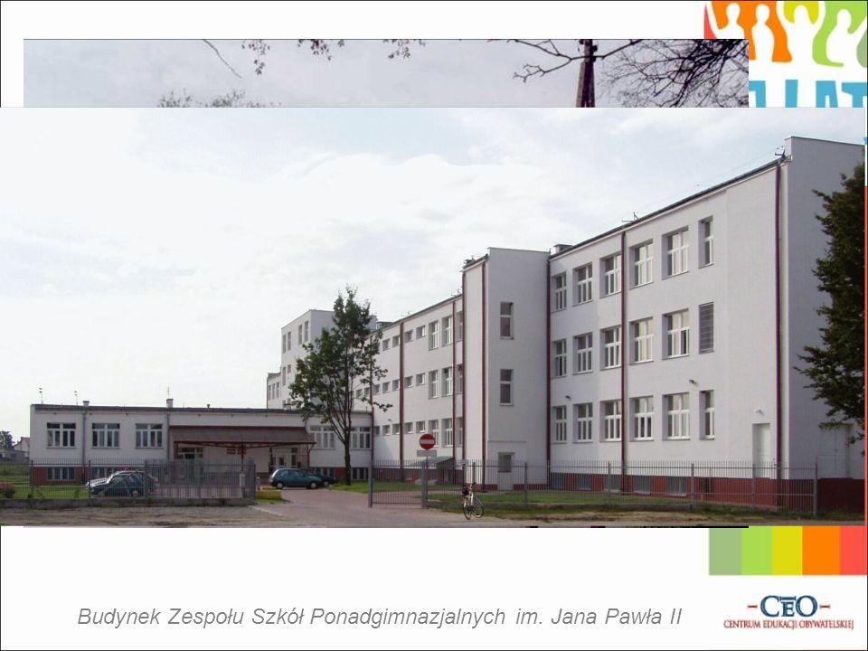 Budynek Zespołu Szkół Ponadgimnazjalnych im. Jana Pawła II