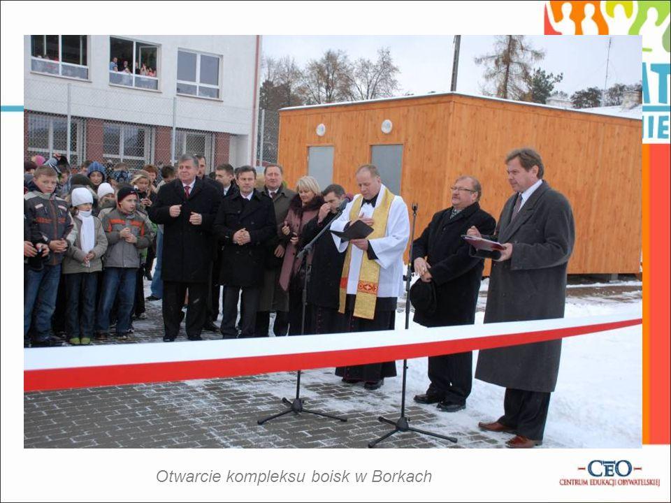 Otwarcie kompleksu boisk w Borkach