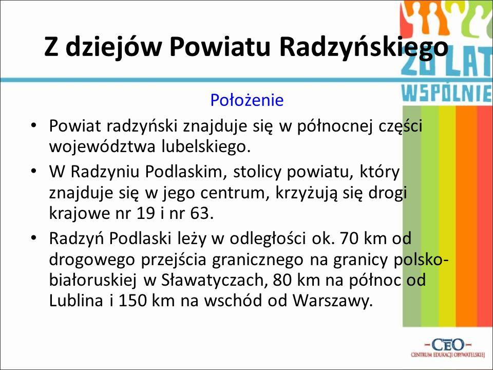 Z dziejów Powiatu Radzyńskiego