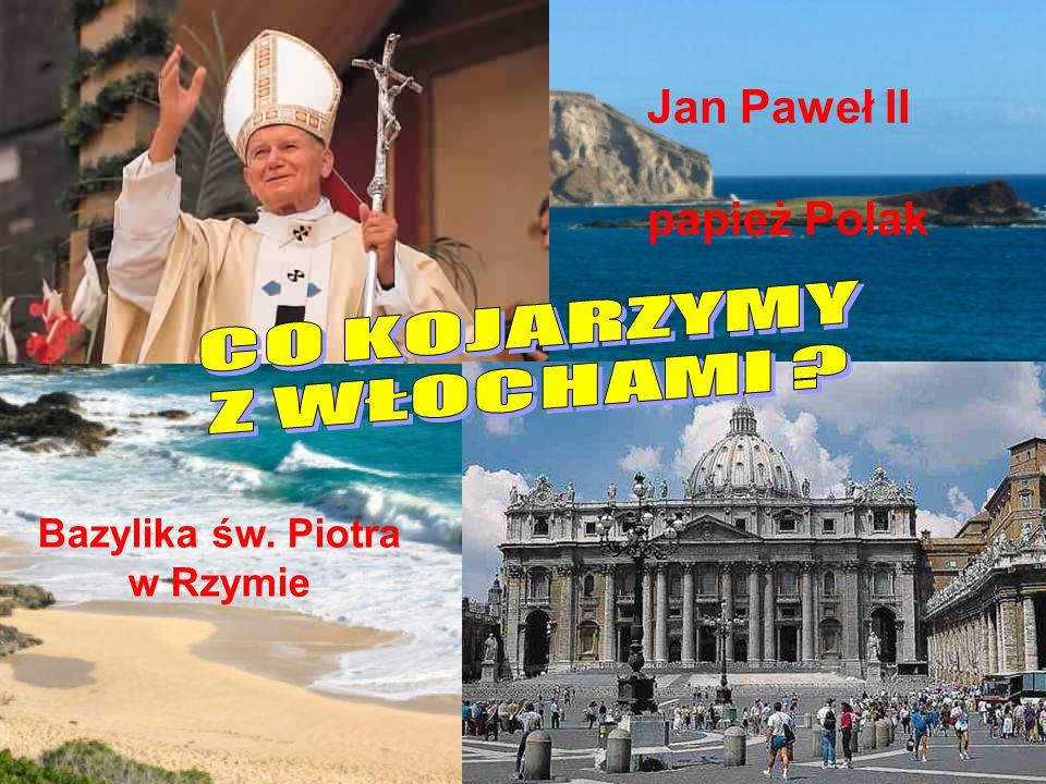 Jan Paweł II papież Polak Bazylika św. Piotra w Rzymie
