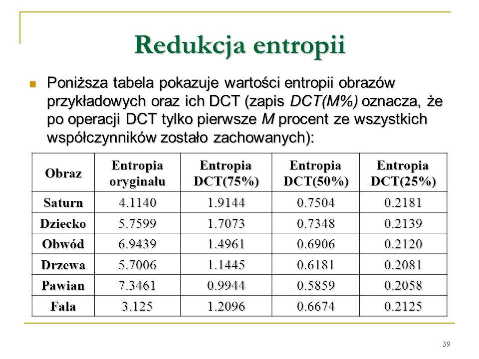 Redukcja entropii