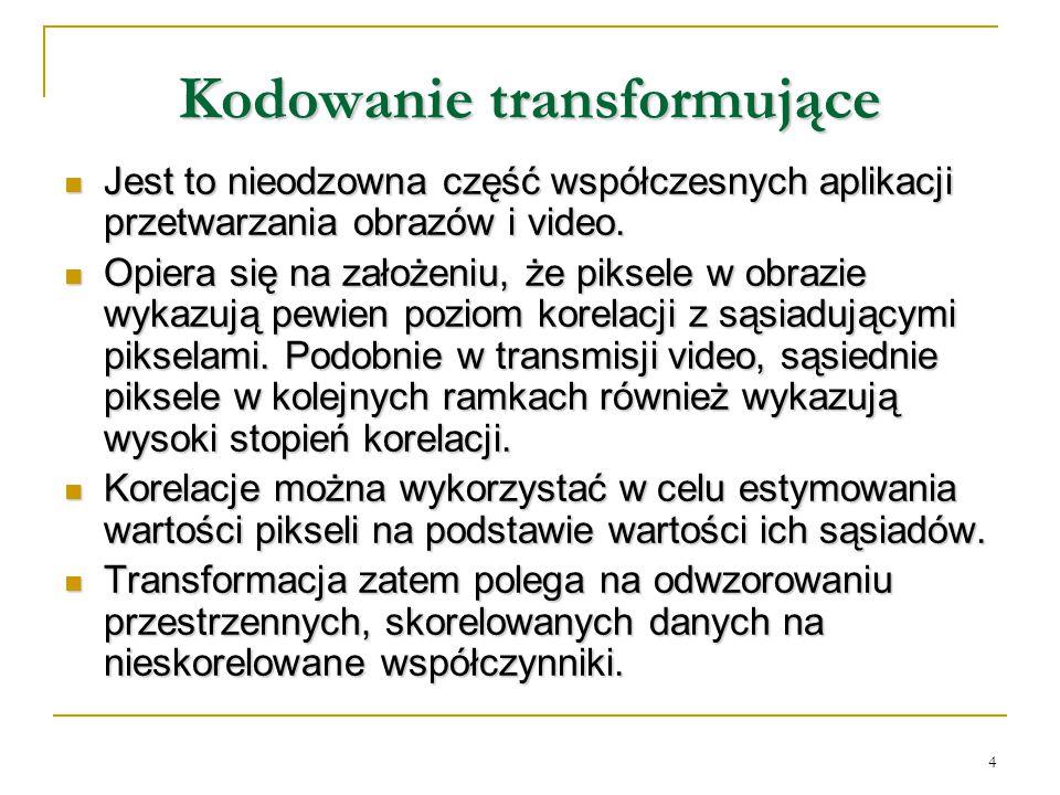 Kodowanie transformujące