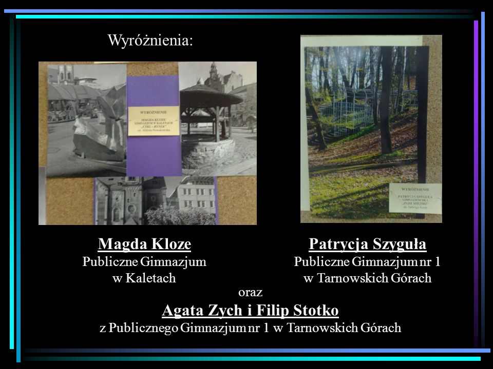 Agata Zych i Filip Stotko