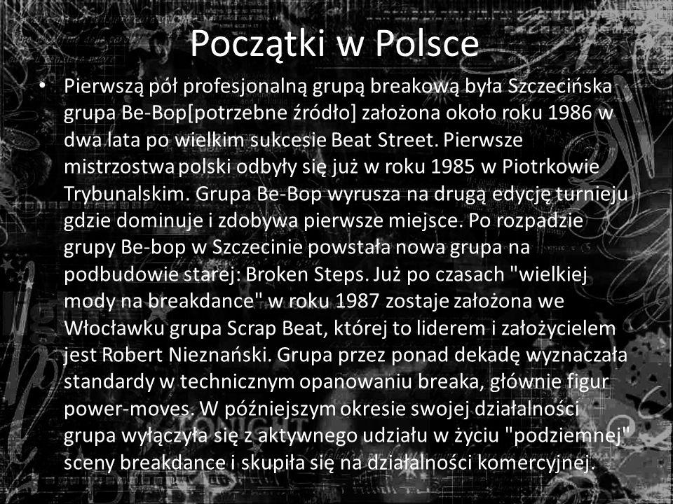 Początki w Polsce