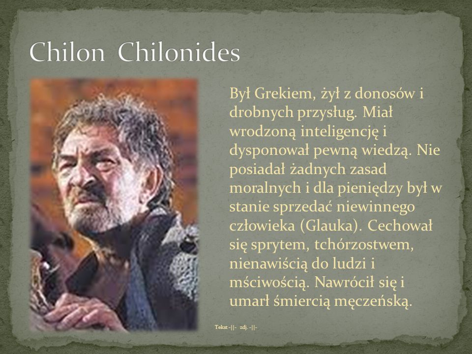 Chilon Chilonides
