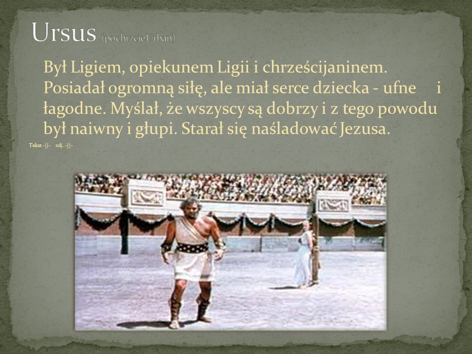 Ursus (po chrzcie Urban)
