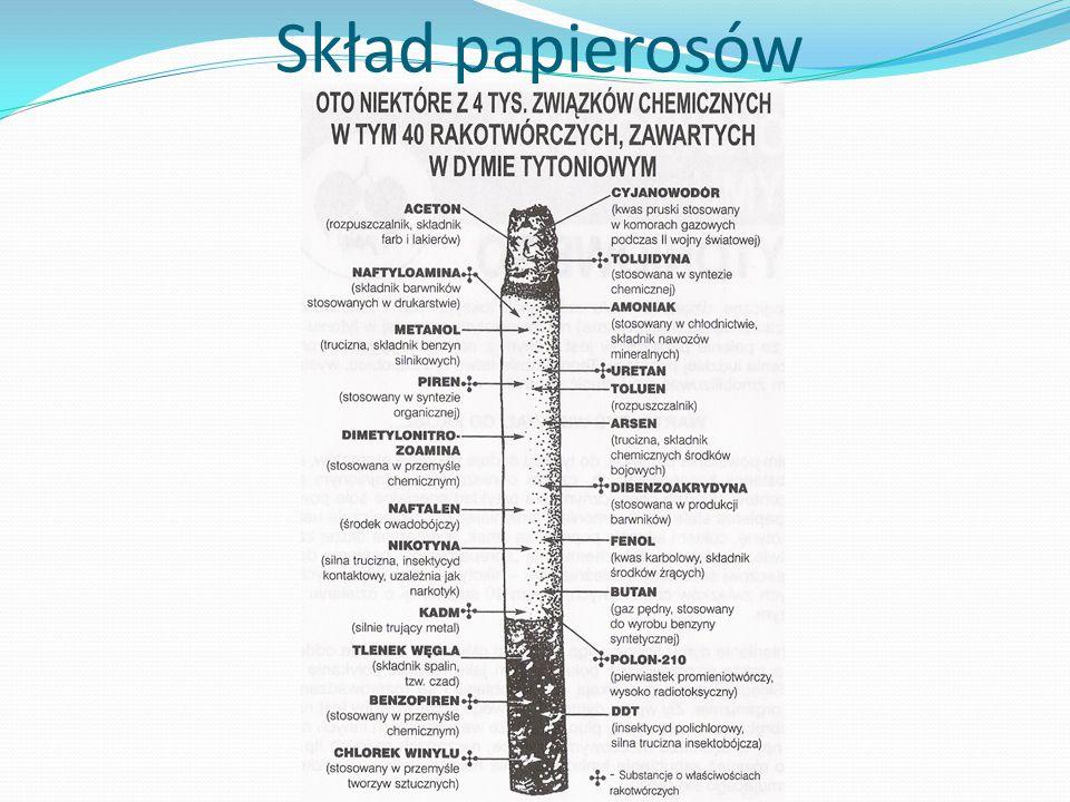 Skład papierosów