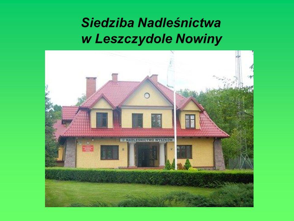Siedziba Nadleśnictwa w Leszczydole Nowiny