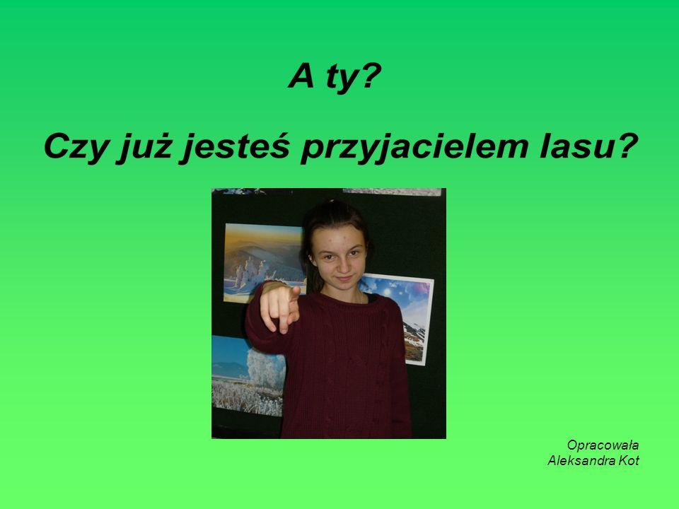 Opracowała Aleksandra Kot