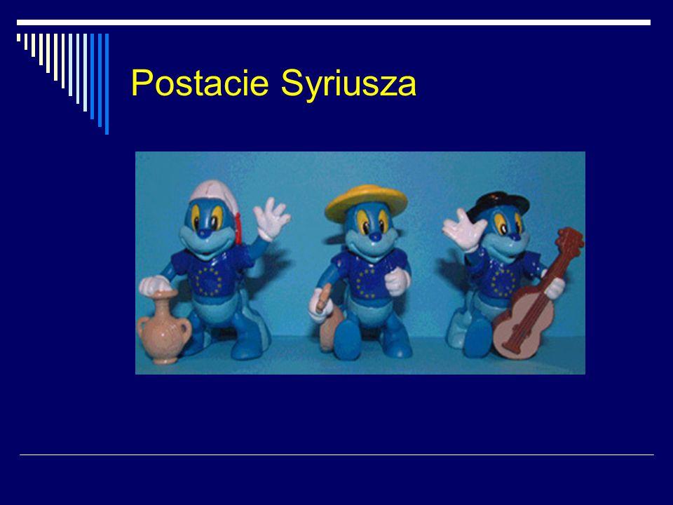 Postacie Syriusza