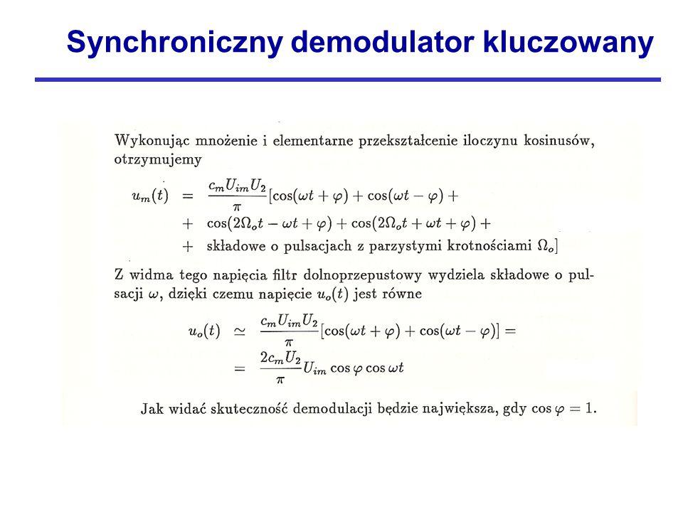 Synchroniczny demodulator kluczowany