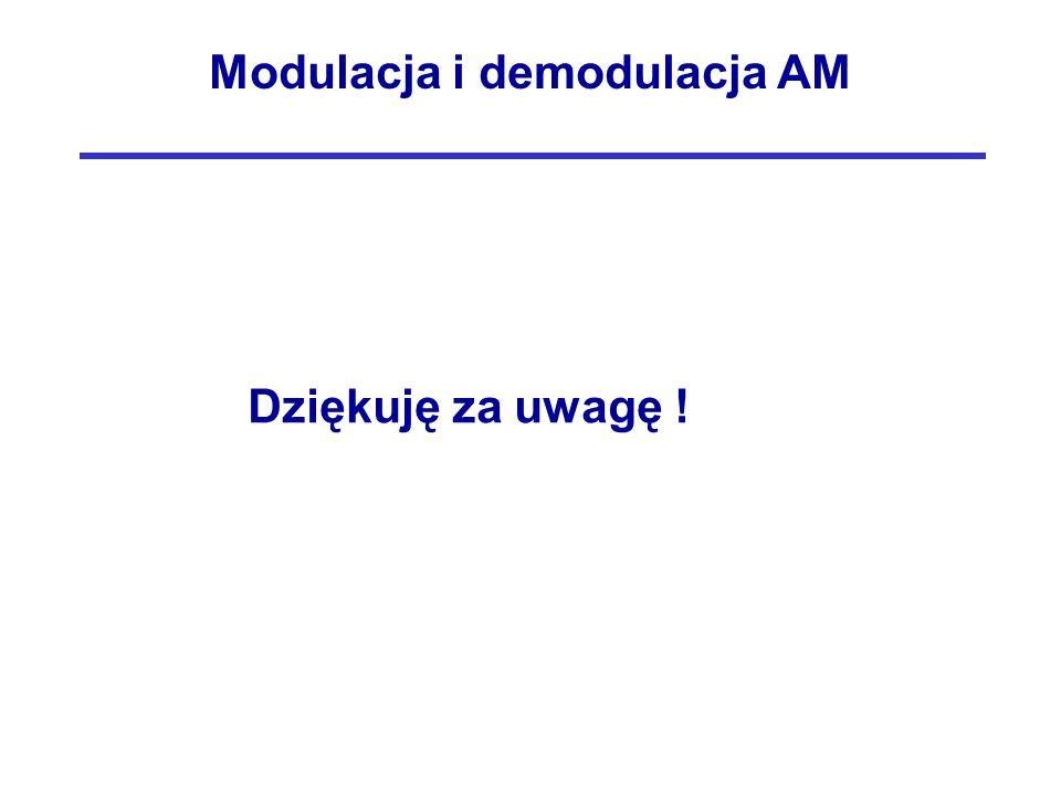 Modulacja i demodulacja AM