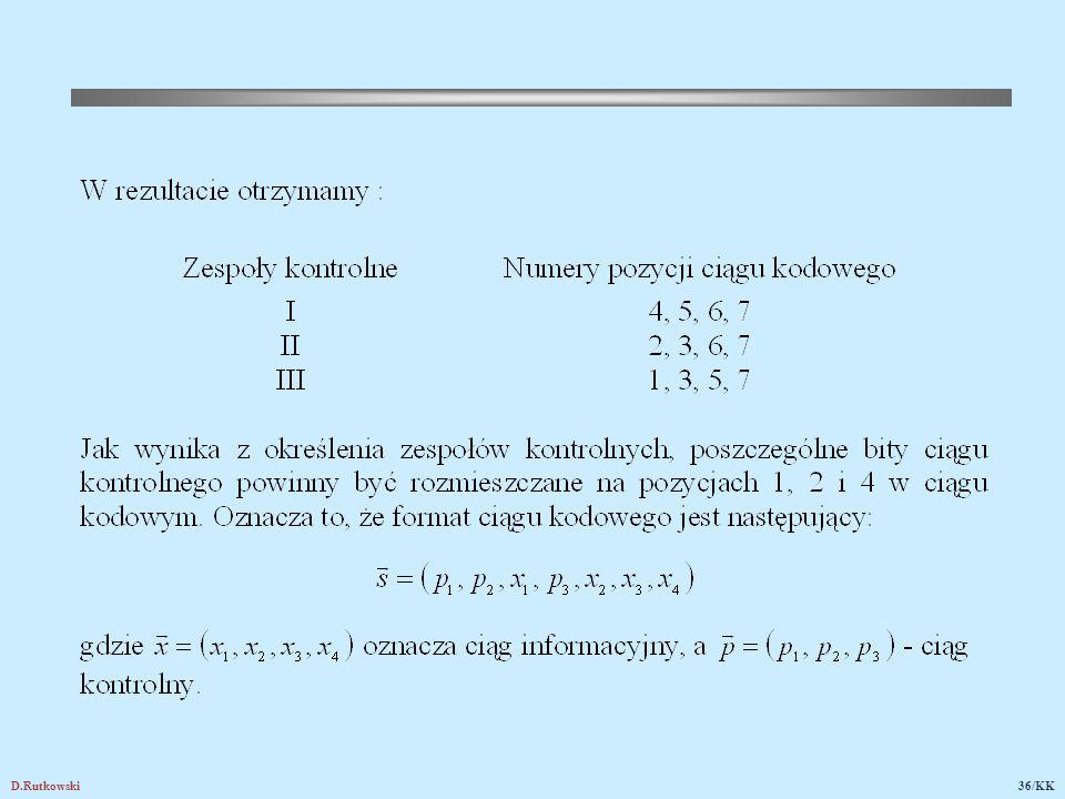 19.2. Prawdopodobieństwo błędu dekodowania