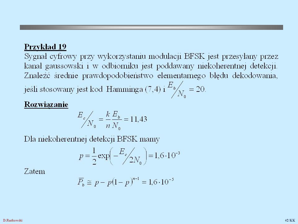 19.3. Zastosowanie rozszerzonego kodu Hamminga (8,4) w systemie telegazety