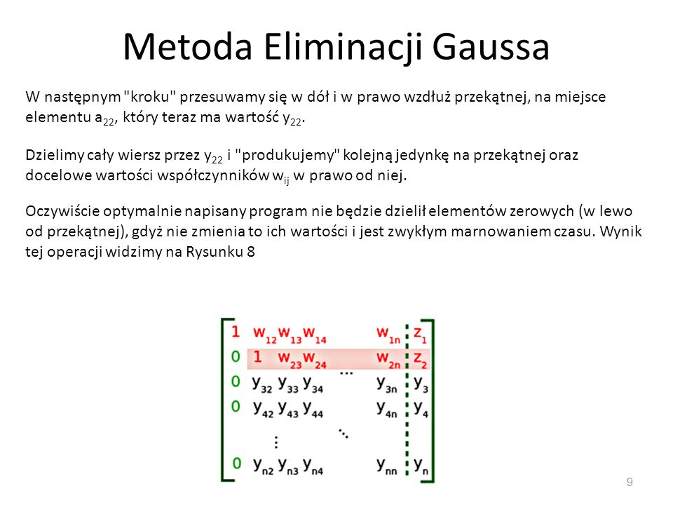 Metoda Eliminacji Gaussa