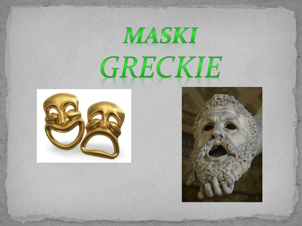 Maski Greckie