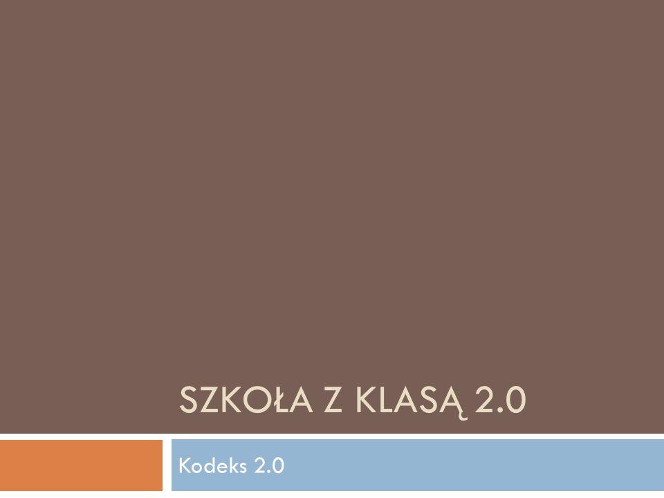 Szkoła z klasą 2.0 Kodeks 2.0