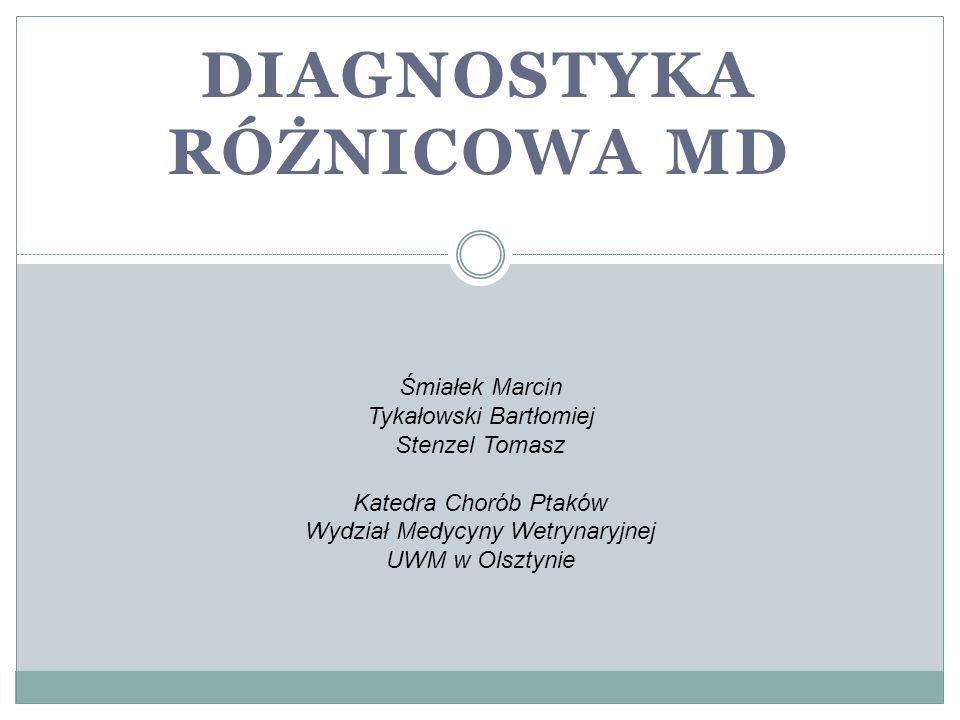 Diagnostyka różnicowa MD