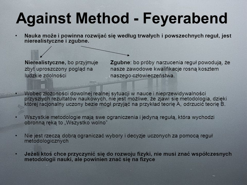 Against Method - Feyerabend